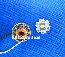 10W 20mm SST-50 3000k Luminus PhlatLight Led Light Lamp + DC3V~18V 7A LED Driver