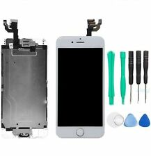 "White LCD Touch Screen Display Digitizer Assembly for iPhone 6 4.7"" + Tool Kit"