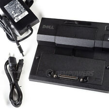 Dell Latitude E-Port Docking Station Replicator E7250 E7450 PA-4E AC Adapter