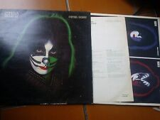 LP KISS PETER CRISS ITALY 1978 CON INNER SLEEVE AND INSERT VG+/EX