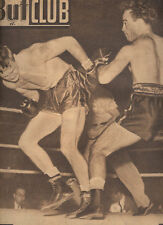 Boxe Boxing 40s MARCEL CERDAN Billy WALKER OLEK BABY DAY LOWELL French Magazine