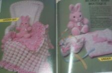 Crochet Shamrock Rose & Baby Afghans Baby Bunny Booties & Sweater patterns