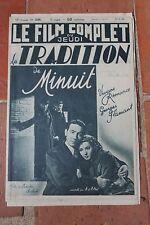 Le Film Complet du Jeudi LA TRADITION DE MINUIT VIVIANE ROMANCE N°2295 1939