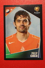 Panini EURO 2004 N. 322 NEDERLAND COCU NEW With BLACK BACK TOPMINT!!