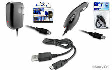 Universal  Micro USB Battery Car + Home Charger + Charging Cable For Cell Phones