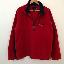 VTG 90s Polo Sport Ralph Lauren Spell Out Fleece Jacket Mens SZ XL Hip Hop 92