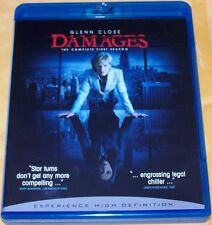 DAMAGES: The Complete First Season (2008, 3 Blu-ray Set) *SHIPS FAST Mon-Sat!