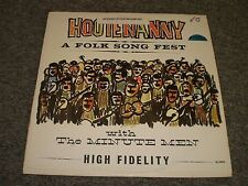 Hootenanny~A Folk Song Fest with The Minute Men~Dave Beaber~RARE~FAST SHIPPING