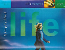 SIMPLY RED LIFE CASSETTE ALBUM GERMANY 10track Electronic Pop Rock, Synth-pop