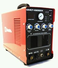 SIMADRE 3IN1 110/220V 5200DX 50A PLASMA CUTTER 200A TIG ARC MMA WELDER - SALE
