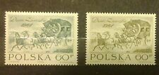 POLAND-STAMPS MNH Fi1382a+b SC1270-71 Mi1530-31 - Day of stamp - 1964, clean