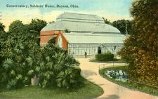 Dayton,OH. The Conservatory,Soldiers' Home 1915