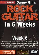 LICK LIBRARY Danny Gill's ROCK GUITAR in 6 WEEKS Learn to Play Van Halen DVD 6