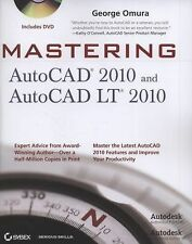 Mastering AutoCAD 2010 and AutoCAD LT 2010, Omura, George, Good Book
