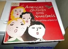 America's Children Sing Christmas Carols 24 Songs Westminster 1956 LP