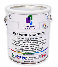 Top Coat Epoxy Finish Moisture-Cured Polyurethane, UV resistant, 1 GALLON