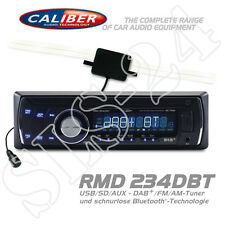 CALIBER rmd234dbt Radio USB SD AUX DAB + FM AM-Tuner Bluetooth autoradio + Antenna