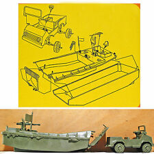 Atlantic Landing Craft and Jeep - set 2158 - mint-in-box - 60mm scale