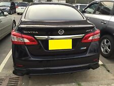 REAR LIP SPOILER ABS For NISSAN SENTRA 2013-2015 Sedan Unpainted