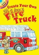 Dover Little Activity Books Stickers: Create Your Own Fire Truck Sticker...
