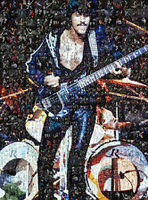 LARGE UNIQUE ORIGINAL MOSAIC PHOTO POSTER IN VARIOUS COLOURS OF THIN LIZZY No 11