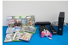 Xbox 360 4GB with Kinect plus games and extras