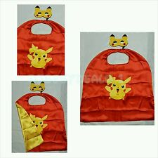 Pokemon PIKACHU Cape and mask for kids birthday party Halloween favors and ideas