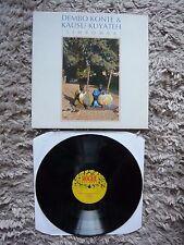 Dembo Konte & Kausu Kuyateh Simbomba 1987 UK African Vinyl LP World Music