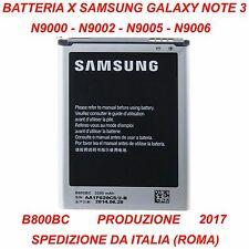 BATTERIA SAMSUNG NOTE3 N9000 N9002 N9005 N9006 B800BC EB-B800BE B800BE EB-B800BC