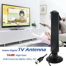 Indoor Digital TV Antenna 16dBi High Gain Full HD 1080p DVB-T-Aerial fr DTV I4V7