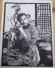 Chinese Hand made  Paper Cut/Silhouettes/Carv-Piping