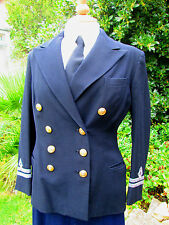 Original WW2 Woman's WRNS Officer's Uniform Jacket Modern Size 12 Wren
