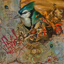 GREG SIMKINS CRAOLA Beyond Shadows print poster tattoo art blue jay graffiti tag