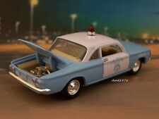 1960 60 CHEVY CORVAIR NEW ORLEANS POLICE 1/64 SCALE COLLECTIBLE DIECAST MODEL