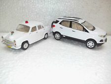 TOY & MODELS OF ECOSPORT & AMBASSADOR IN WHITE COLOR -CENTY TOYS-KIDSTOYSHUB