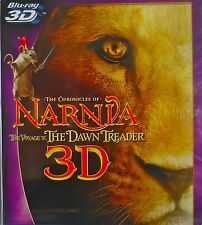 THE CHRONICLES OF NARNIA THE VOYAGE OF THE DAWN TREADER BLU-RAY 3D Movie  NEW