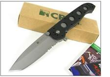 Couteau CRKT M16 Carson Design Tanto Serrated Acier AUS-4 AutoLAWKS safety CR14Z