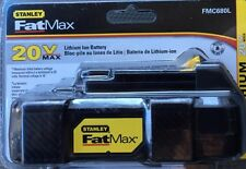 STANLEY FATMAX 20 VOLT MAX LITHIUM ION BATTERY BRAND NEW BNIB 20V FAST FREE SHIP