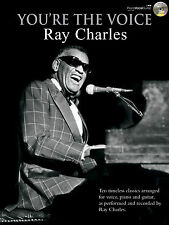 Youre The Voice Ray Charles Blues Soul Gospel Piano Guitar FABER Music BOOK & CD