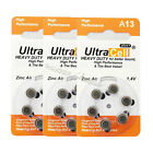 18pcs (3 Packs) Zinc Air Hearing Aid Battery A 13 A13 7000ZD PR48 13A AC13E 13SA