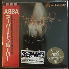 ABBA - Super Trouper SHM Mini LP Style CD NEU  Japan 2016