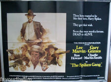 Cinema Poster: SPIKES GANG, THE 1974 (Quad) Lee Marvin Gary Grimes Ron Howard