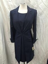 Kasper Dress And Jacket Suit /NEW WITH TAG/SIZE 16/LINED/RETAIL$240/LENGTH 41""