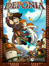 DEPONIA - Steam chiave key - Game PC Gioco - ITALIANO - Free shipping - ROW
