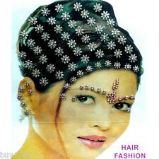 Bollywood Bindis Indiens Accessoires Pour Cheveux Coiffure De Mariage Strass