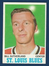 BILL SUTHERLAND 70-71 TOPPS 1970-71 NO 83 EXMINT+