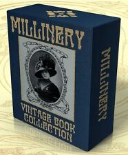 MILLINERY 37 Vintage Books on CD-Rom Hats, Hat Making, Headwear, Vintage Hats