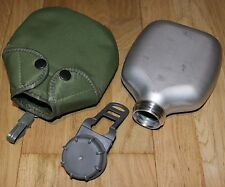 Finnish Army Stainless Steel Canteen 0.7L SA FDF Special Force