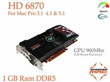  Radeon HD6870  1 GB Ram DDR5, EFI pour Mac Pro  3.1, 4.1 ou 5.1,  4k (As 5870)