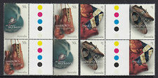 Australia 2005 Sport Treasures Gutter Block of 4 (2443-46GPBL)